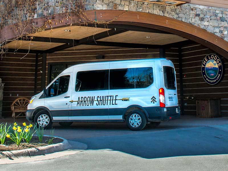 arrow-shuttle-whitefish-lodge